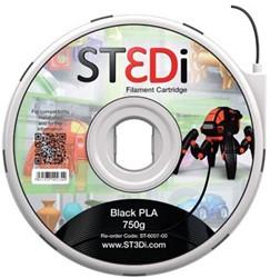 ST3Di Cartridge PLA 750G zwart voor St3di Printer