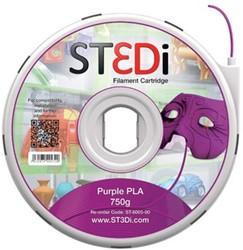 ST3Di Cartridge PLA 750G paars voor St3di Printer