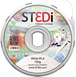 ST3Di Cartridge PLA 750G wit voor St3di Printer