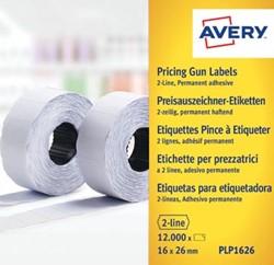 Avery prijsetiketten voor prijstang permanent