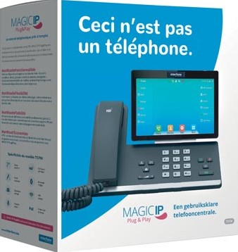 Magic IP Plug & Play by Interfone T57W, gebruiksklare telefooncentrale