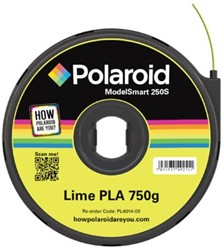 Polaroid 3D cartridge PLA 750G voor Polaroid 250S, limoen