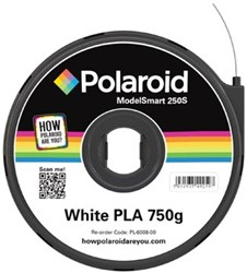 Polaroid 3D cartridge PLA 750G voor Polaroid 250S, wit