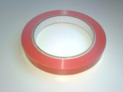 Tape voor zakkensluiter rood 19mm x 66mtr