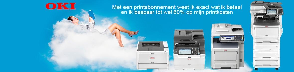 Goedkoper printen met een print abonnement