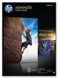 Hewlett Packard originals Fotopapier 250 gram pak van 20 blad