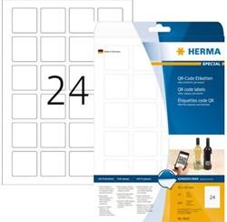 etiket voor QR code Herma 40x40mm A4 600 vel