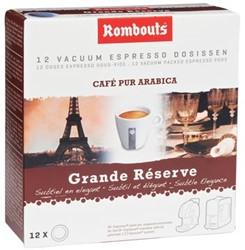 Rombouts Koffie pads 1,2,3 Espresso® Grande Réserve