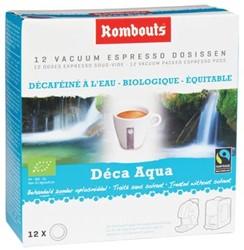 Rombouts Koffie pads 1,2,3 Espresso® Décaféiné