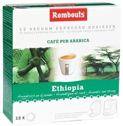 Rombouts Koffie pads 1,2,3 Espresso® Mokka Sidamo d'Ethiopie