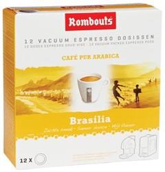 Rombouts Koffie pads 1,2,3 Espresso® Brésil sul de Minas