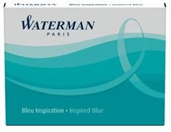 Waterman inktpatronen Standard turkoois, pak van 6 stuks