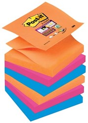 Post-it Super Sticky Z-Notes Bangkok Pak van 6
