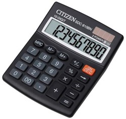 Desq bureaurekenmachine SDC-810BN zwart