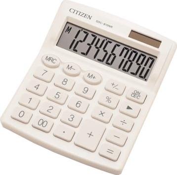 Citizen bureaurekenmachine SDC-810, wit