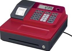 Casio thermische kasregister SE-G1SB, rood