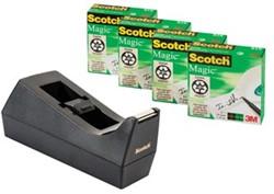 Scotch plakbandhouder zwart