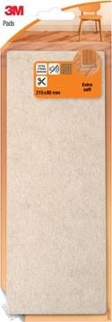 3M viltglijder 21,5 x 8 cm, blisterverpakking
