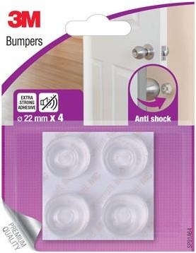 3M Bumpers, Anti shock, 22 mm, blister van 4 stuks