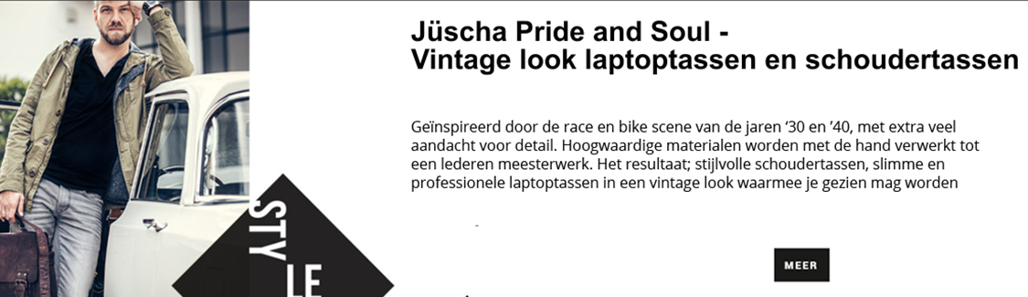 Schoudertassen en laptoptassen