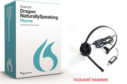 Spraakherkenningssoftware Dragon NaturallySpeaking Home 13.0