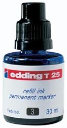 Edding navulinkt voor permanent markers e-T100 blauw, 30 ml
