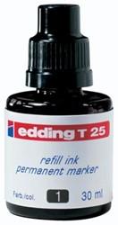 Edding navulinkt voor permanent markers e-T100 zwart, 30 ml