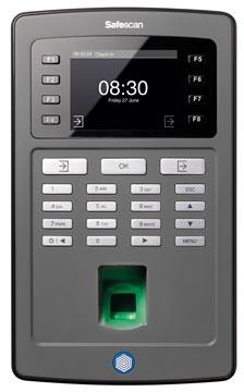 Safescan tijdsregistratiesysteem TA8025, zwart