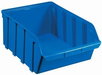 Viso Stockagebak capaciteit: 28 l, ft binnen 18 x 27 x 45 cm, ft buiten 18,7 x 30,8 x 47,5 cm, blauw