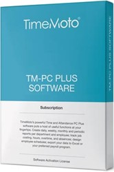 Safescan software voor tijdsregistratiesystemen, TimeMoto Pc Plus