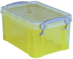 Really Useful Boxes Visitekaarthouder geel