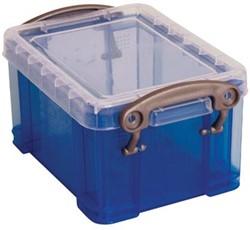 Really Useful Boxes Visitekaarthouder blauw