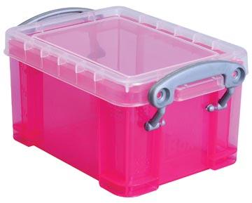Really Useful Boxes Visitekaarthouder roze
