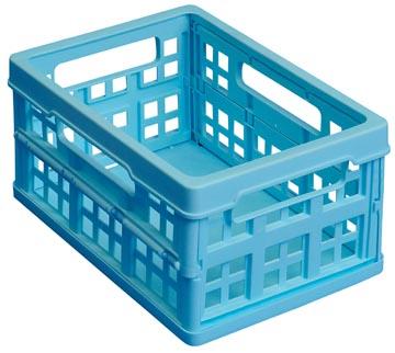 Inklapbaar krat 1,7 liter Really Useful Boxes lichtblauw