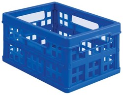Klein vouwboxje 1,7 liter Really Useful Box donkerblauw