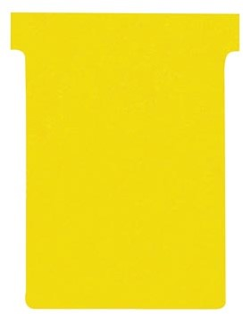 Nobo T-planbordkaarten index 3, ft 120 x 92 mm, geel
