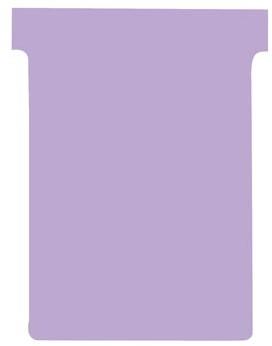 Nobo T-planbordkaarten index 3, ft 120 x 92 mm, violet