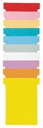 Nobo T-planbordkaarten index 4, ft 180 x 124 mm, blauw