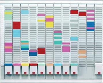 Nobo jaarplanner met kaartjes 96x77cm