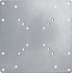Newstar verloopplaat VESA200, zilver