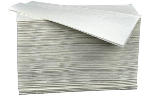 Handdoekvulling Budget Z-vouw 2L voor H2 23,4x19,6cm 4740st.