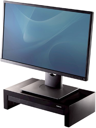 Monitorstandaard met lade Fellowes Designer Suites zwart