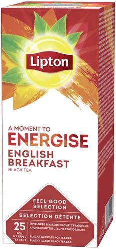 Lipton thee Energise English Breakfast 25stuks