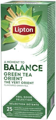 Lipton thee Balance Groene thee Oriënt 25stuks