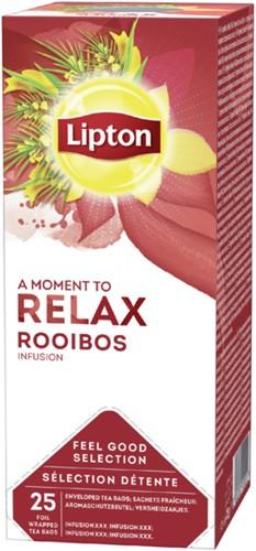 Rooibos thee Lipton Feel Good Selection 25 zakjes