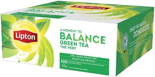 Lipton thee Balance Green tea 100stuks