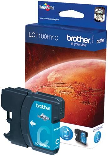 Brother LC1100HYC cartridge cyaan