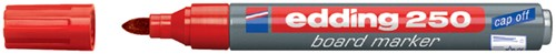 Whiteboard markers Edding e-250 rood