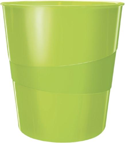 Papierbak Leitz WOW 15liter groen