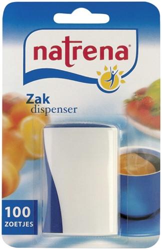 Zoetjes Natrena zakdispenser met 100 stuks